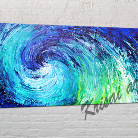 Oceanic lights Seascape Painting
